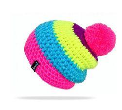 Плетена детска шапка за зима
