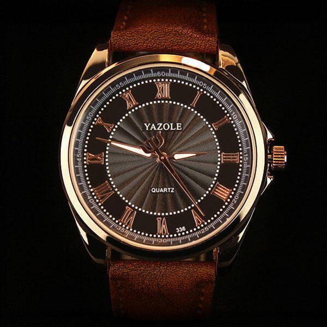 Pánské elegantní hodinky - 4 varianty 1