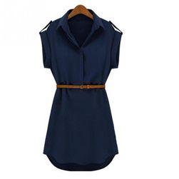 Košilové dámské šaty