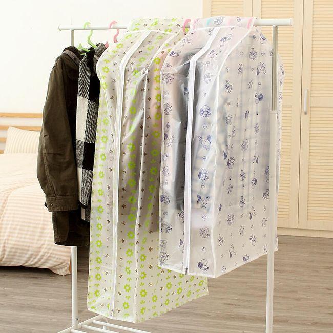 Široký obal na oblečení - prachotěsný 1