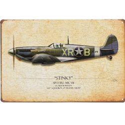 Blaszana tabliczka - Spitfire