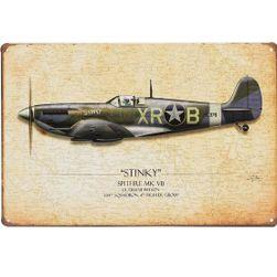 Afis metalic - Spitfire