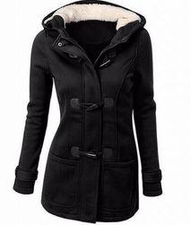 Женская толстовка-пальто Bella с пуговицами