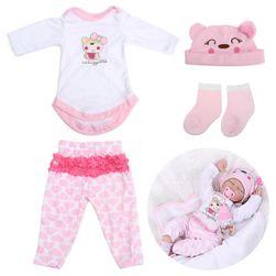Růžový obleček pro panenku
