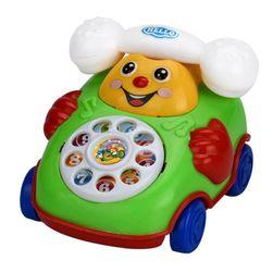 Dziecięcy telefon na kółkach