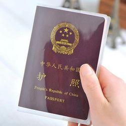 Átlátszó útlevél borító