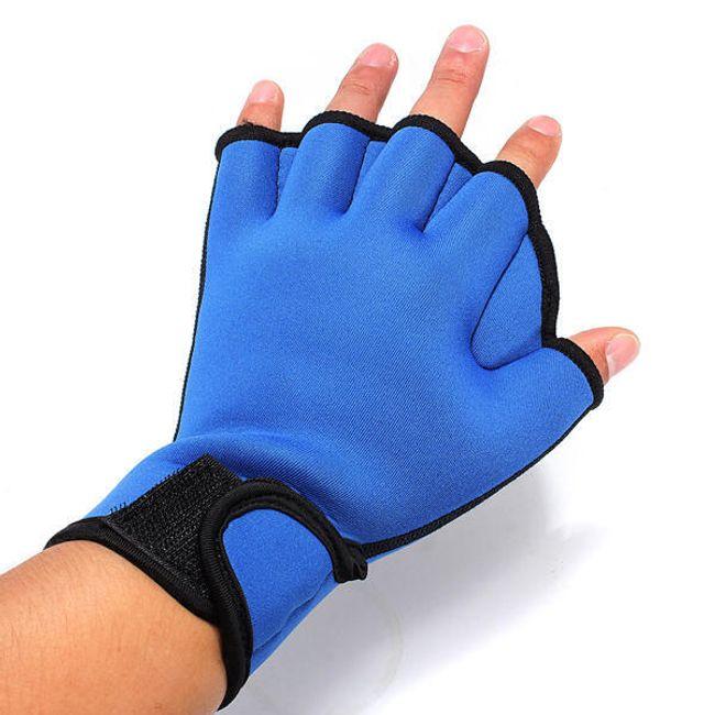 Neoprenowe rękawiczki do pływania - 2 kolory 1