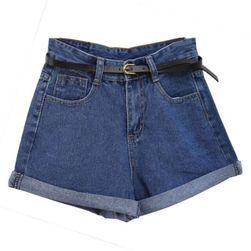 Женские шорты с высокой талией Amelia