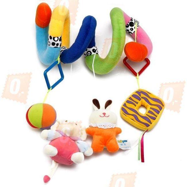 Barevná hračka pro děti - had 1