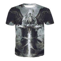 Мъжка тениска с къс ръкав Azrael