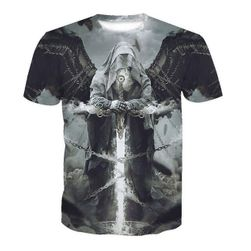 Мужская футболка с короткими рукавами Azrael