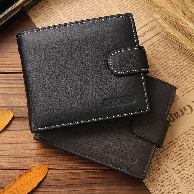 Moška elegantna denarnica v klasičnem dizajnu 1