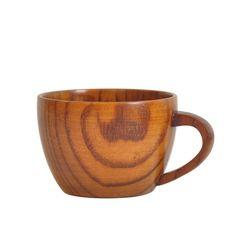 Šálek na kávu z přírodního dřeva