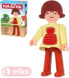 IGRÁČEK bunica figurina 7.5 cm familie în kit cutie SR_DS15366054