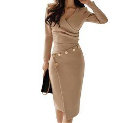Dámské šaty s dlouhým rukávem WD23