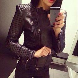 Дамско яке от изкуствена кожа Petronella