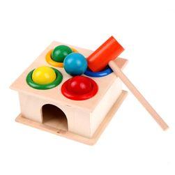 Dřevěná hračka - kladívko