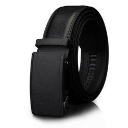 Pánský pásek do kalhot v černé barvě