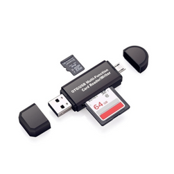 Cititor de carduri multifunctional cu USB