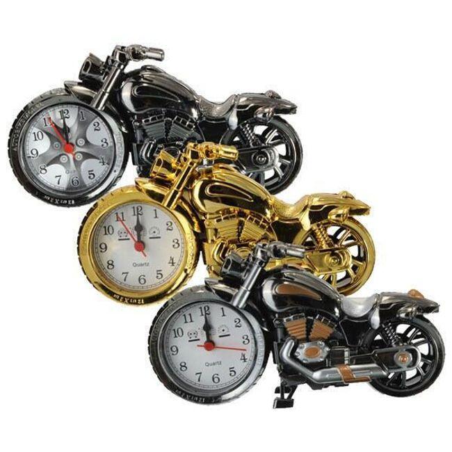 Budilka v obliki motocikla - 3 barve 1
