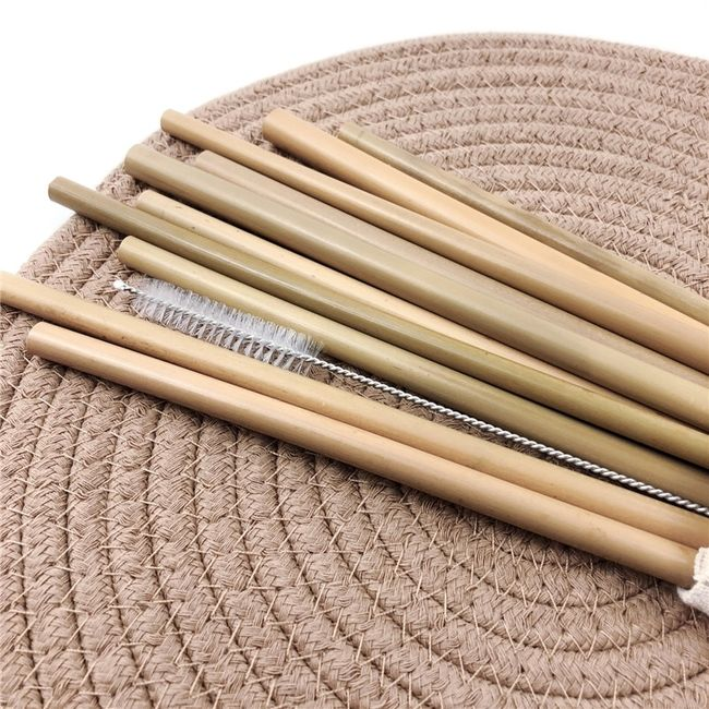 Bambusz szívószál Alisha 1