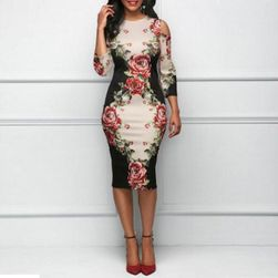 Dámské šaty s dlouhým rukávem Chereen velikost 7