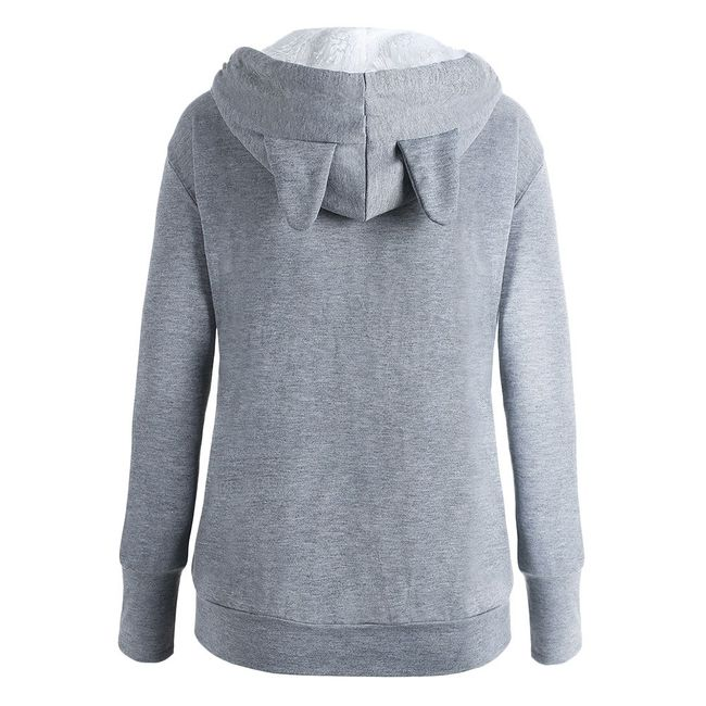 Női kapucnis pulóver Letty