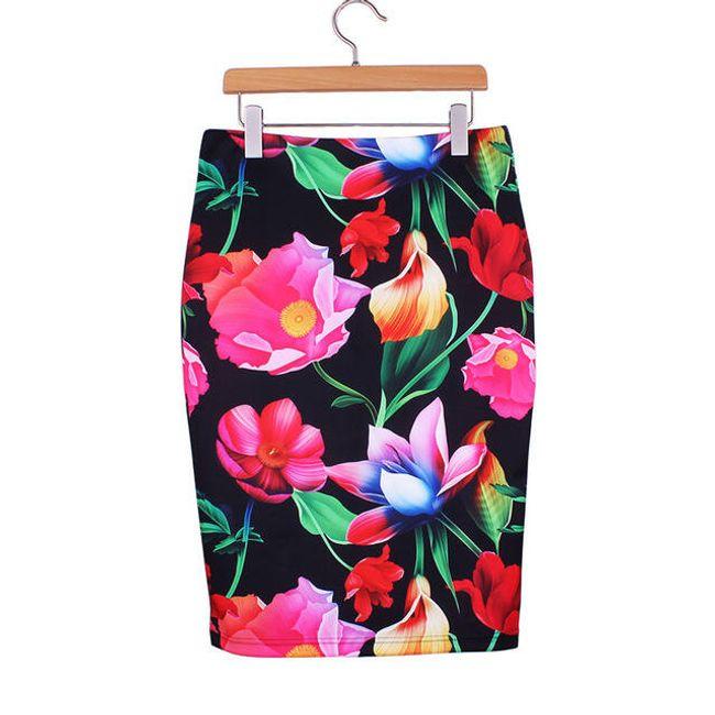 Pouzdrová dámská sukně ve 21 variantách-velikost č. 3 1