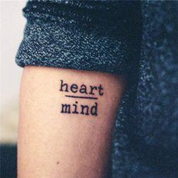 Переводная татуировка- большой выбор текстов и орнаментов