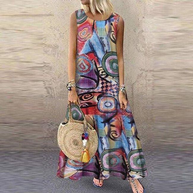 Damskie sukienki maxi Neboa 1