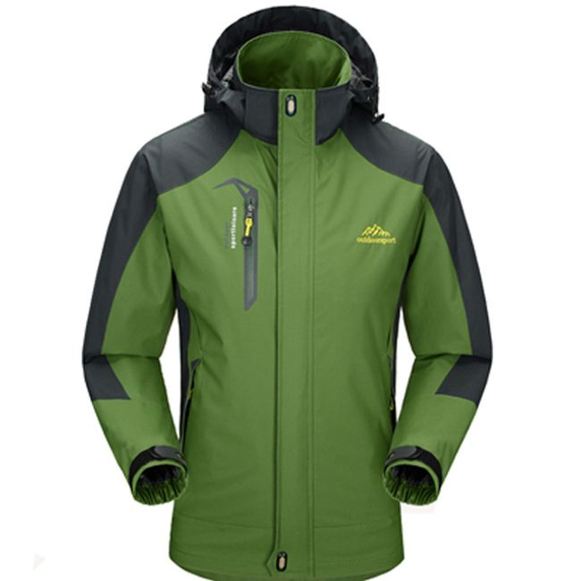 Pánská nebo dámská bunda do nepříznivého počasí - Zelená (pánská) - velikost č. 8 1