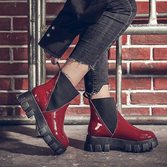Damskie buty do kostki TF9255 1