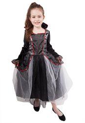 Dětský kostým s netopýry čarodějnice/Halloween (M) RZ_598867
