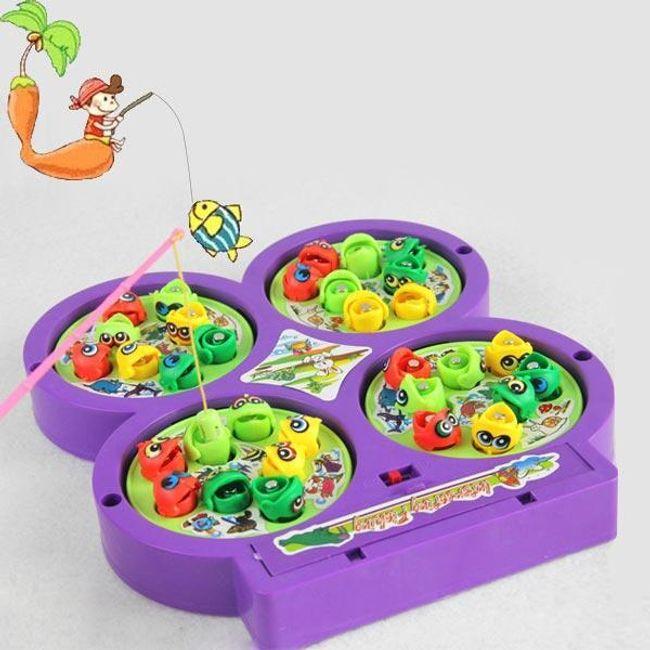 Детска играчка - магнитни рибки 1