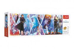 """Puzzle panoramatické Ľadové kráľovstvo II / Frozen II 1000 dielikov 97x34cm v krabici 40x13,5x7cm """" RM_89129048"""