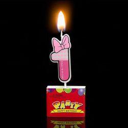 Tortowa świeczka DF18