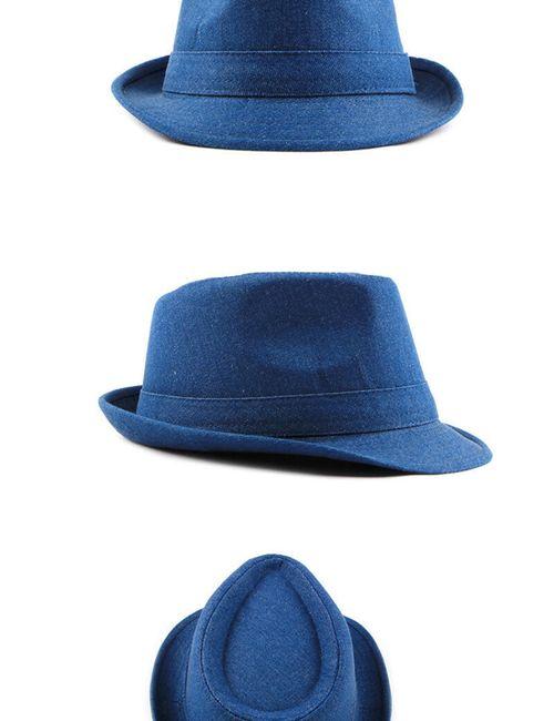 Férfi kalap kék színben