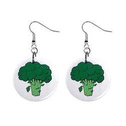 Kapslowe kolczyki - Brokuły