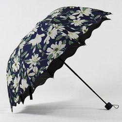 Květinový skládací deštník
