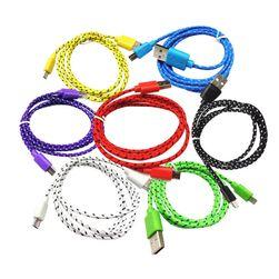 Cablu micro USB pentru date și încărcare - 7 culori