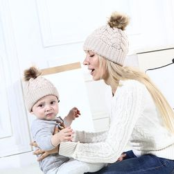Шапка за майка и дъщеря Brook