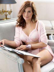 Podprsenka nevyztužená Ladyform Soft W nafialověle růžová 1347 PR_P40367