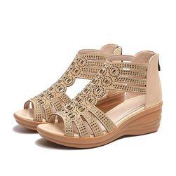 Дамски обувки на клин ток NW4