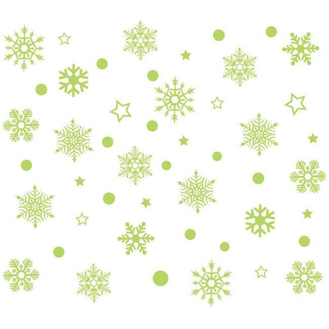 Vánoční samolepky Snow 1