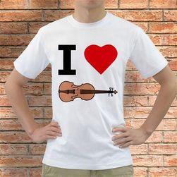 Koszulka I love Skrzypce