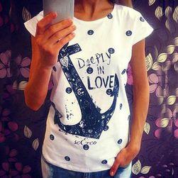 Damska koszulka marynarska - miks wariantów
