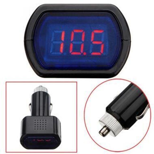 Digitális voltmérő - autós kiegészítők 1