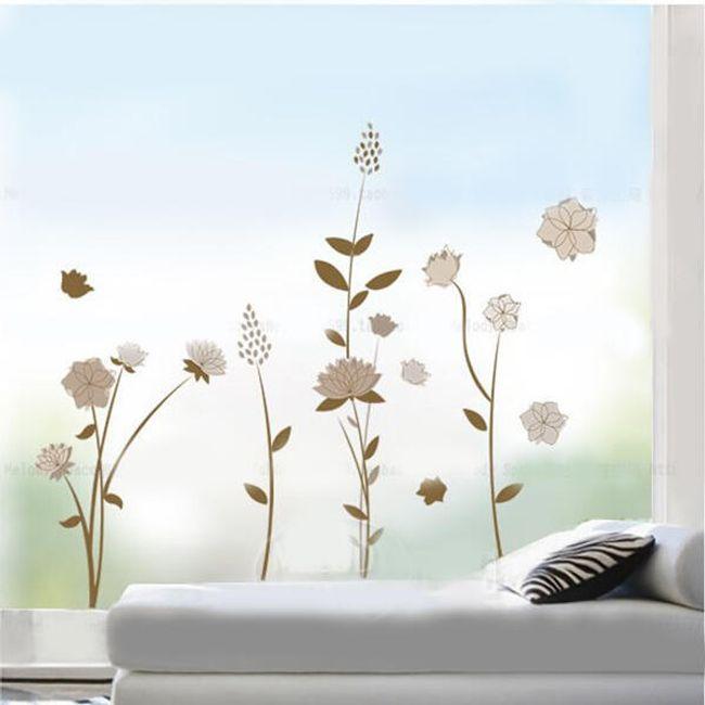 Kwiaty na ścianę w przyzwoitym wykonaniu 1