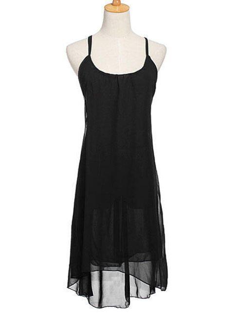 Wolna sukienka z lekkiego materiału 1