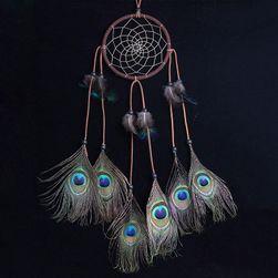 Lapač snů s pavími pery